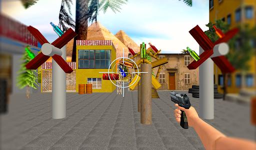 بازی اندروید تیرانداز واقعی بطری - Real Bottle Shooter Game