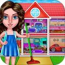 تمیز کردن خانه - دختران خانگی