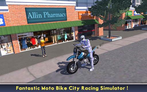 بازی اندروید مسابقه قدرتی موتورهای شهر - Power Racer City Moto Bike SIM