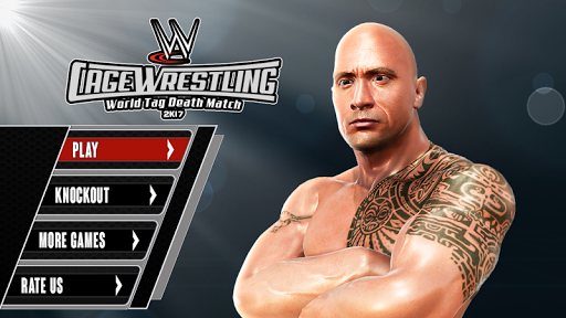 بازی اندروید مبارزه کشتی قفس مرگ - Cage Wrestling Tag: Revolution Death Match Fight