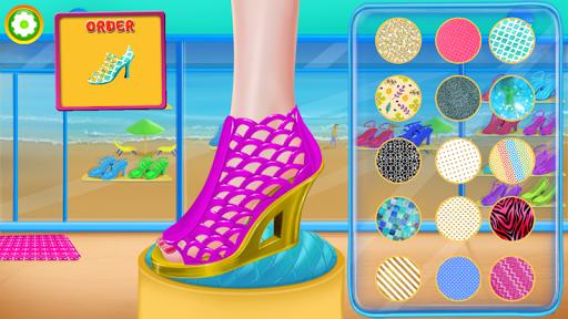 بازی اندروید طراحی کفش - دنیای مد - Little Shoe Designer - Fashion World