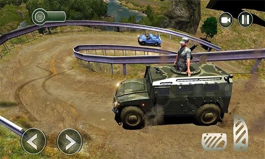 بازی اندروید حمل و نقل ارتش - OffRoad US Army Transport Sim