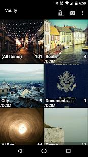 نرم افزار اندروید پنهان کردن تصویر و ویدیو - Hide Pictures &Videos - Vaulty