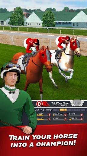 بازی اندروید مدیریت مسابقات اسب سواری - Horse Racing Manager 2018