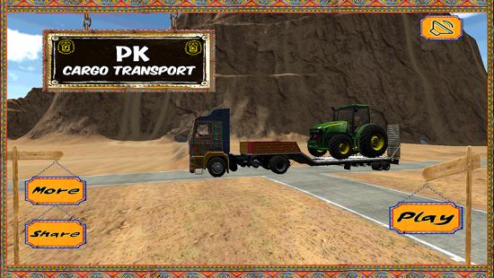 بازی اندروید حمل محموله - PK Cargo Transport