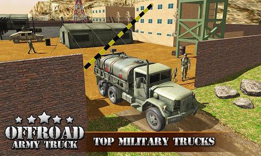 بازی اندروید راننده کامیون ارتش آمریکا 2017 - US OffRoad Army Truck driver 2017