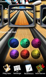 بازی اندروید بولینگ سه بعدی - 3D Bowling