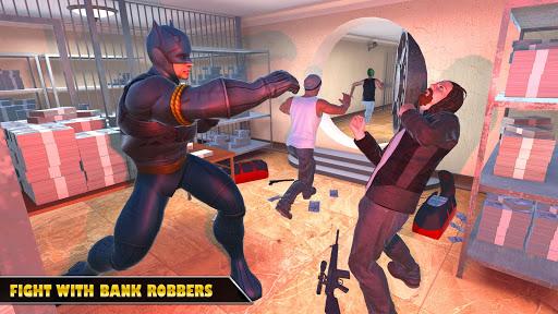 بازی اندروید ماموریت نجات شهر قهرمان - Hero City Bank Robbery Crime City Rescue Mission