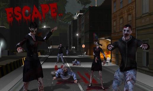 بازی اندروید تک تیرانداز زامبی - Zombie Sniper Shooting: 3D