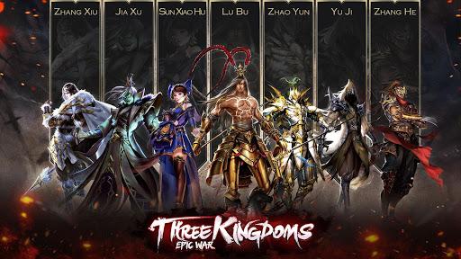 بازی اندروید جنگ حماسی -  سه امپراطوری - ThreeKingdoms:EpicWar