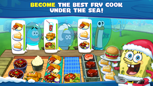 بازی اندروید رستوران باب اسفنجی - SpongeBob: Krusty Cook-Off