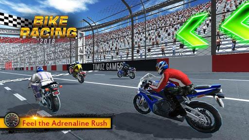 بازی اندروید  مسابقه موتور سواری 2018 - Bike Racing 2018 - Extreme Bike Race