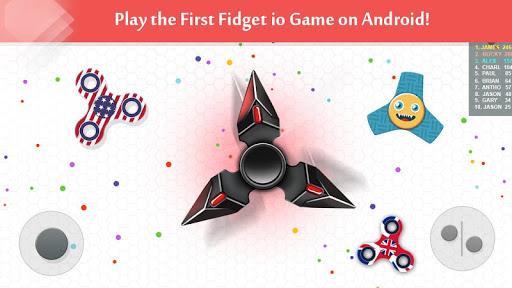 بازی اندروید اسپینر - Fidget Spinner .io Game