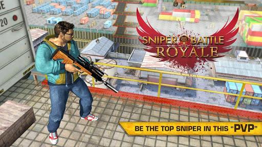 بازی اندروید تک تیرانداز رویال - Sniper Royale