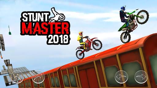 بازی اندروید استاد شیرین کاری موتور - Bike Stunt Master