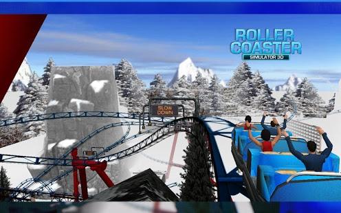 بازی اندروید شبیه ساز ترن هوایی - Roller Coaster Simulator