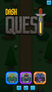 بازی اندروید حرکت قهرمان - Dash Quest