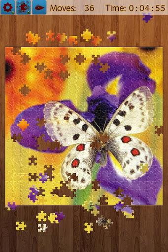 بازی اندروید پازل پروانه - Butterfly Jigsaw Puzzles
