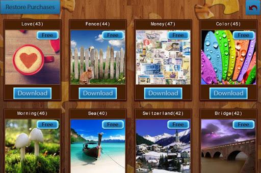 بازی اندروید پازل عکس - Jigsaw Puzzles Free