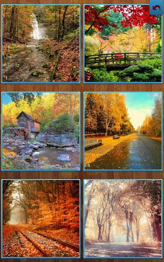 بازی اندروید پازل جیکساو پاییز - Autumn Jigsaw Puzzles
