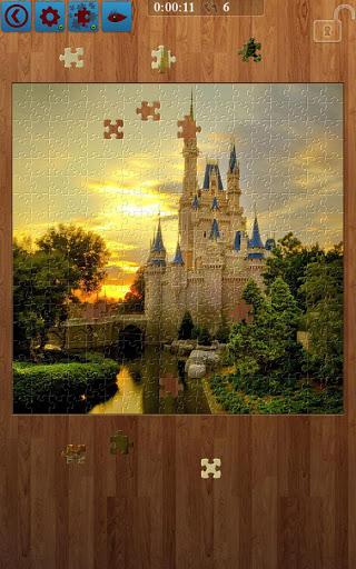 بازی اندروید پازل قلعه - Castle Jigsaw Puzzles