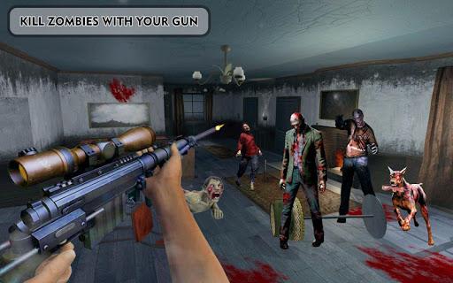 بازی اندروید شلیک قاتل زامبی - Zombies Frontier Dead Killer: TPS Zombie Shoot