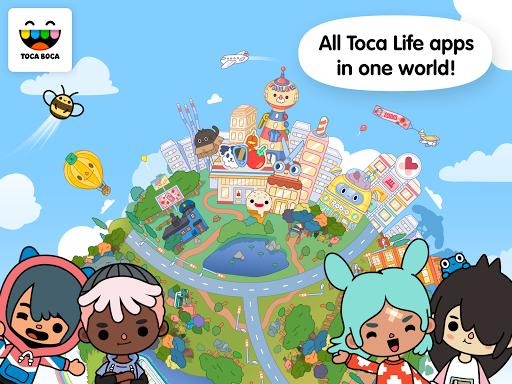 بازی اندروید زندگی جهانی توکا - Toca Life: World
