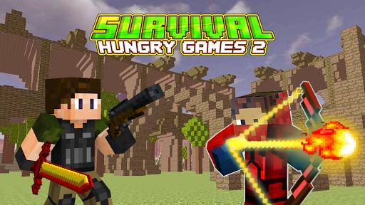 بازی اندروید گرسنه بقا 2 - The Survival Hungry Games 2