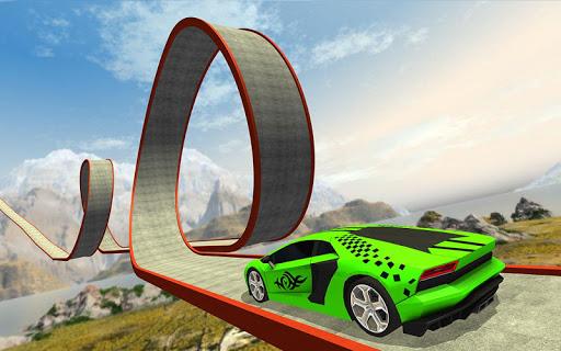 بازی اندروید بازی شیرین کاری دشوار اتومبیل - بازی مسابقه ماشین - Impossible Car Stunt Game 2020 - Racing Car Games