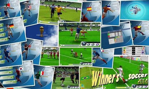 بازی اندروید برنده بازی فوتبال - Winner Soccer Evolution