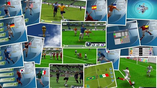 بازی اندروید فوتبال برندگان - Winner Soccer Evo Elite