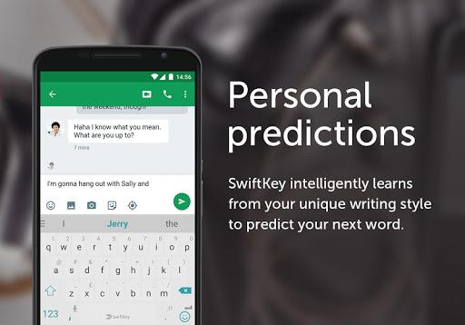نرم افزار اندروید صفحه کلید سوییفت کی - SwiftKey Keyboard