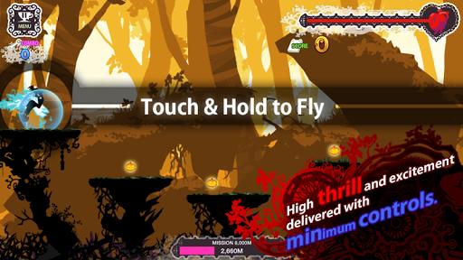 بازی اندروید جادوگر پرشکوه - Jumpy Witch