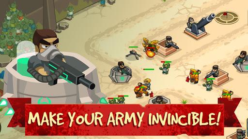بازی اندروید جهان زامبی - برج دفاع - Zombie World: Tower Defense