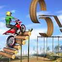 بازی بازی های شیرین کاری موتور - مسابقه سه بعدی موتور سواری