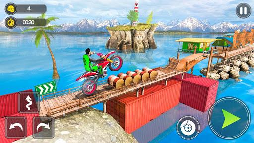 بازی اندروید بازی های شیرین کاری موتور - مسابقه سه بعدی موتور سواری - Mega Ramp Bike Stunt Games - Stunt Bike Racing 3D