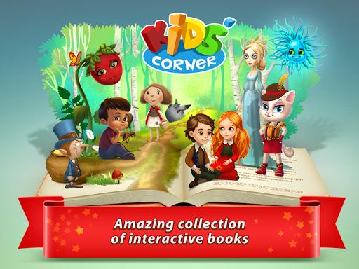 بازی اندروید داستانهای تعاملی کودکان - Kids'Corner: Interactive Tales