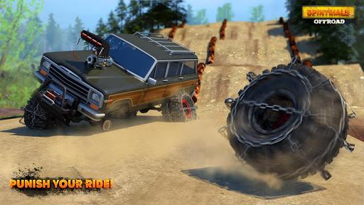 بازی اندروید رانندگی آفرود - Spintrials Offroad Driving Games