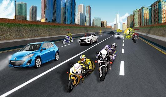 بازی اندروید مسابقه حمله موتورسوار - Bike Attack Race : Stunt Rider