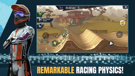 بازی اندروید مهارت های دیوانه موتور سنگین 3 - Mad Skills Motocross 3