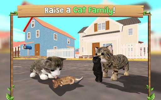 بازی اندروید گربه آنلاین - Cat Sim Online: Play with Cats