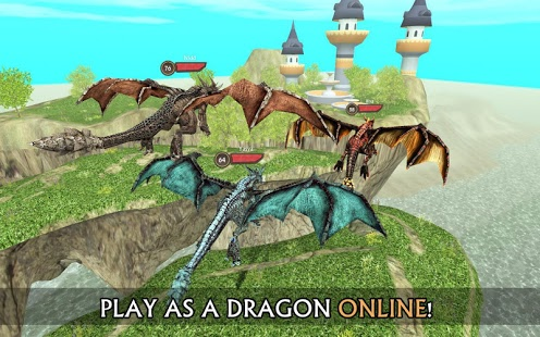 بازی اندروید شبیه ساز آنلاین اژدها - Dragon Sim Online: Be A Dragon