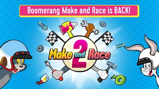 بازی اندروید ساخت مسابقه بومرنگ 2 - بازی مسابقه کارتونی - Boomerang Make and Race 2 - Cartoon Racing Game