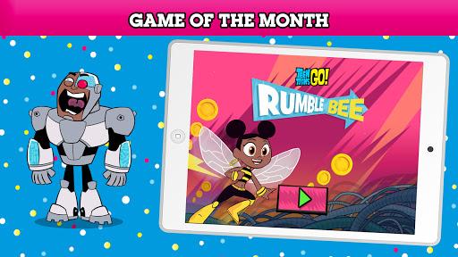 بازی اندروید شبکه کارتون جعبه بازی - بازی رایگان هر ماه - Cartoon Network GameBox - Free games every month