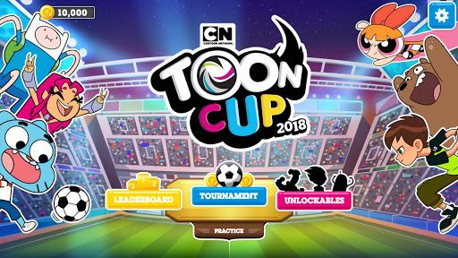 بازی اندروید کاپ 2018 - فوتبال کارتونی - Toon Cup 2018 - Cartoon Network's Football Game