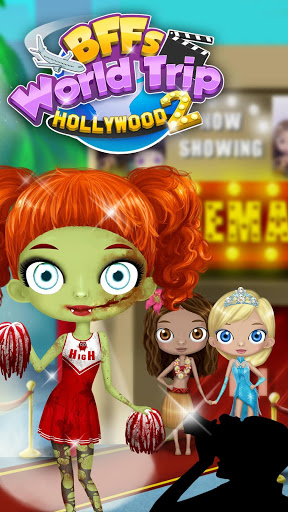 بازی اندروید سفر به هالیوود - BFF World Trip Hollywood 2