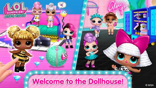 بازی اندروید سورپرایز خانه دیسکو - عروسک های زیبا را جمع کنید - L.O.L. Surprise! Disco House – Collect Cute Dolls