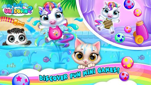 بازی اندروید تک شاخ کودک من - پونی حیوان خانگی من - My Baby Unicorn 2 - New Virtual Pony Pet