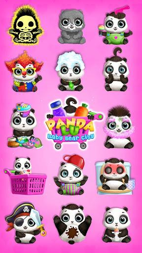 بازی اندروید شهر پاندا - مراقبت از نوزاد حیوانات - Panda Lu Baby Bear City - Pet Babysitting & Care