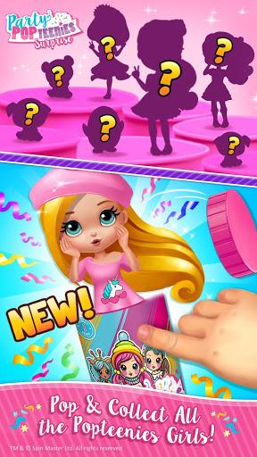بازی اندروید مهمانی سرگرم کننده فروشگاه - Party Popteenies Surprise - Rainbow Pop Fiesta